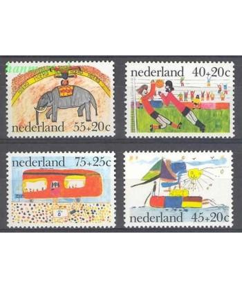 Holandia 1976 Mi 1088-1091 Czyste **