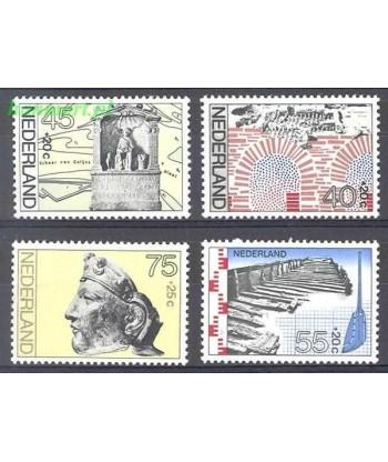 Holandia 1977 Mi 1097-1100 Czyste **