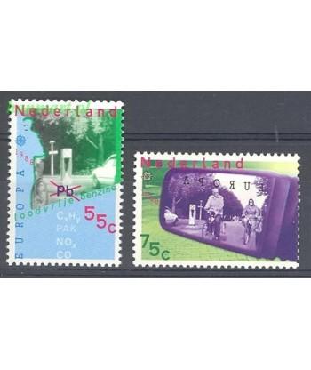 Holandia 1988 Mi 1343-1344 Czyste **