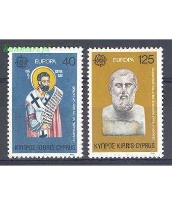 Cypr Grecki 1980 Mi 520-521 Czyste **