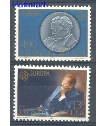 Jugosławia 1980 Mi 1828-1829 Czyste **