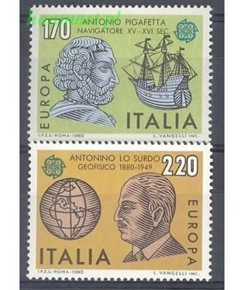 Włochy 1980 Mi 1686-1687 Czyste **