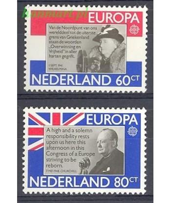 Holandia 1980 Mi 1168-1169 Czyste **