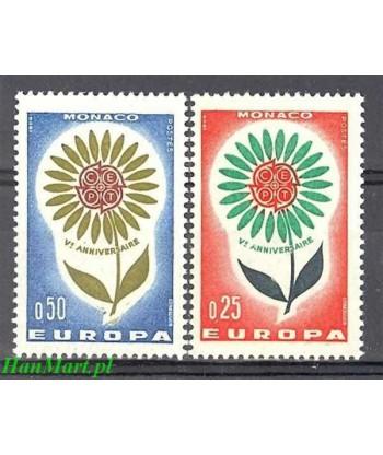 Monako 1964 Mi 782-783 Czyste **