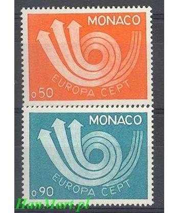 Monako 1973 Mi 1073-1074 Czyste **