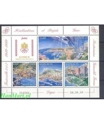 Monako 1999 Mi bl 79 Czyste **