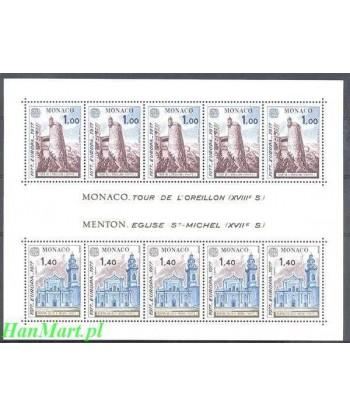Monako 1977 Mi bl 11 Czyste **