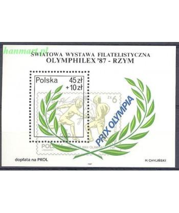 Polska 1987 Mi bl 104 Czyste **