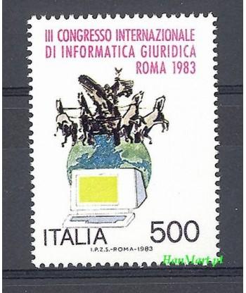 Włochy 1983 Mi 1845 Czyste **