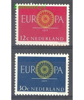 Holandia 1960 Mi 753-754 Czyste **