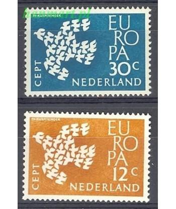 Holandia 1961 Mi 765-766 Czyste **