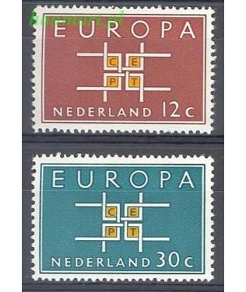 Holandia 1963 Mi 806-807 Czyste **