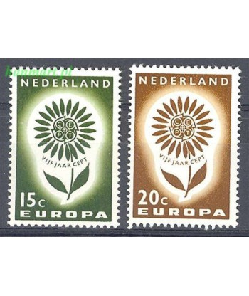 Holandia 1964 Mi 827-828 Czyste **