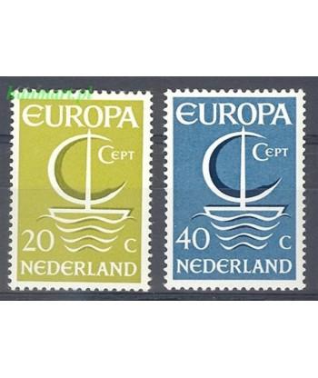 Holandia 1966 Mi 864-865 Czyste **