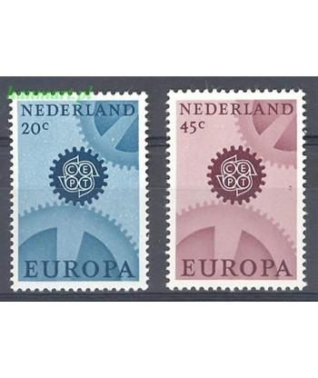 Holandia 1967 Mi 878-879x Czyste **
