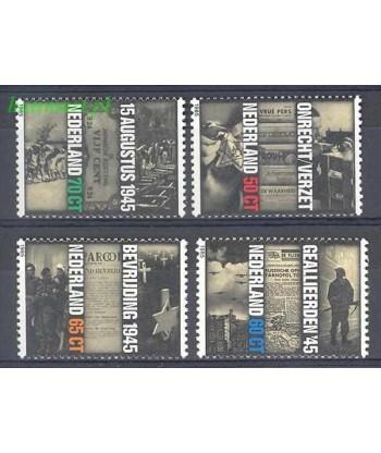 Holandia 1985 Mi 1270-1273 Czyste **