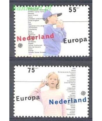 Holandia 1989 Mi 1364-1365 Czyste **