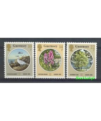 Guernsey 1986 Mi 358-360 Czyste **