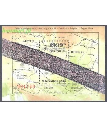 Węgry 1999 Mi bl 247 Czyste **