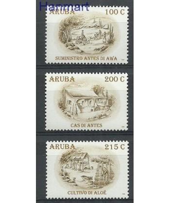 Aruba 2009 Mi 431-433 Czyste **