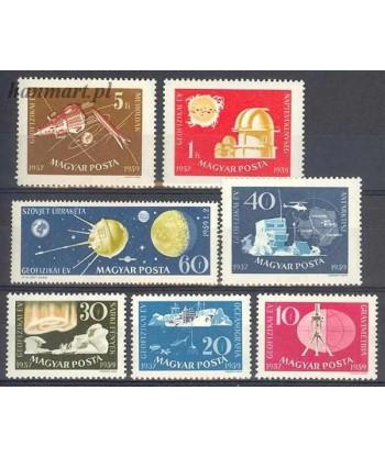 Węgry 1959 Mi 1571-1577 Czyste **