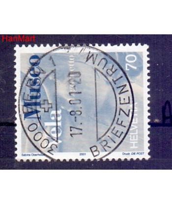 Szwajcaria 2001 Mi  Stemplowane