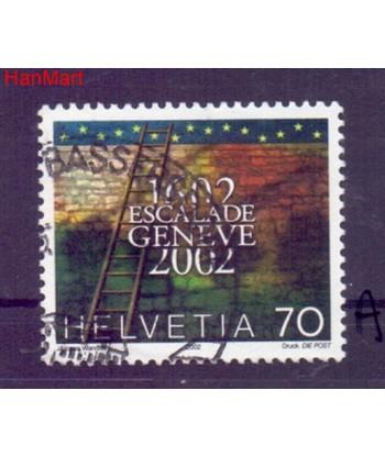 Szwajcaria 2002 Mi  Stemplowane