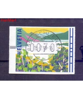 Szwajcaria 1996 Mi  Stemplowane