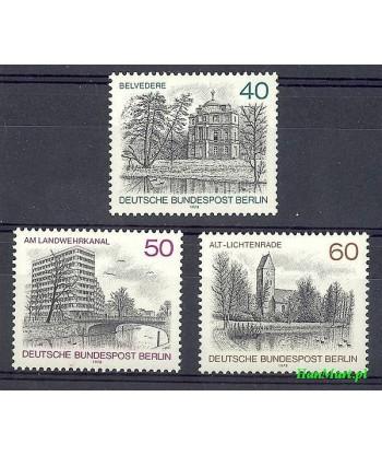 Berlin Niemcy 1978 Mi 578-580 Czyste **