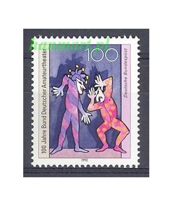 Niemcy 1992 Mi 1626 Czyste **