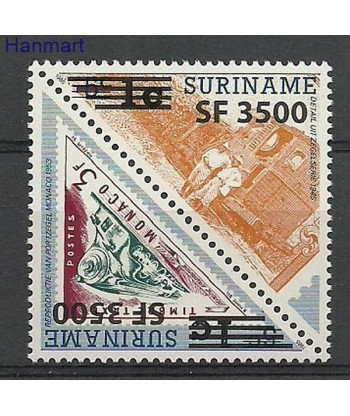 Surinam 2003 Mi 1888-1889 Czyste **
