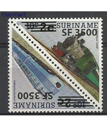 Surinam 2003 Mi 1892-1893 Czyste **
