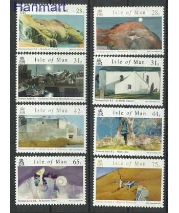 Wyspa Man 2007 Mi 1357-1364 Czyste **