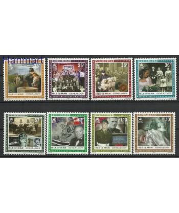Wyspa Man 2011 Mi 1659-1666 Czyste **