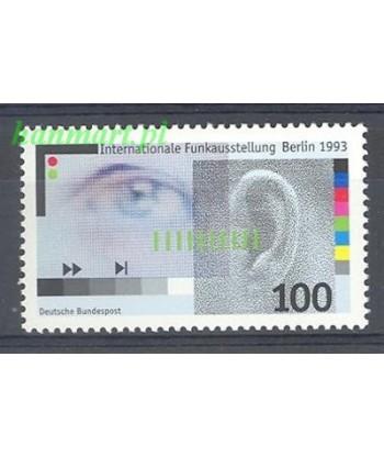 Niemcy 1993 Mi 1690 Czyste **