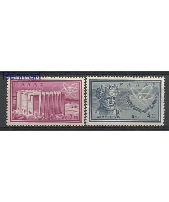 Grecja 1961 Mi 773-774 Czyste **