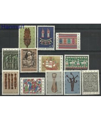 Grecja 1966 Mi 921-932 Czyste **