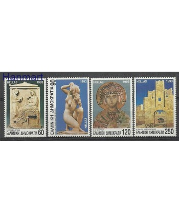 Grecja 1993 Mi 1825-1828 Czyste **