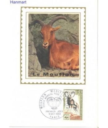 Francja 1969 Mi  Karta Max