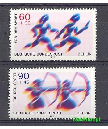 Berlin Niemcy 1979 Mi 596-597 Czyste **