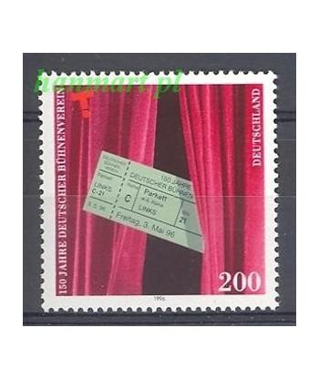 Niemcy 1996 Mi 1857 Czyste **