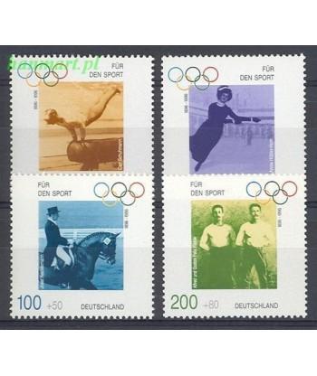 Niemcy 1996 Mi 1861-1864 Czyste **