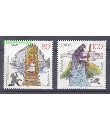 Niemcy 1997 Mi 1915-1916 Czyste **