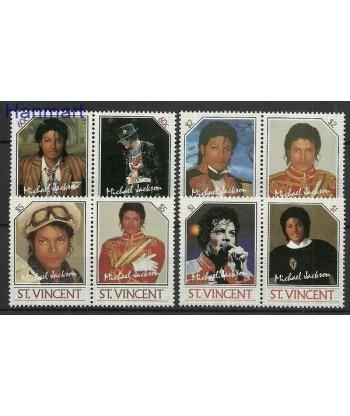 St Vincent 1985 Mi 890-897 Czyste **