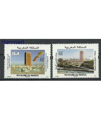 Maroko 2013 Mi 1826-1827 Czyste **