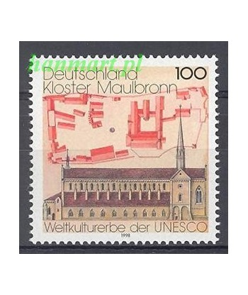 Niemcy 1998 Mi 1966 Czyste **