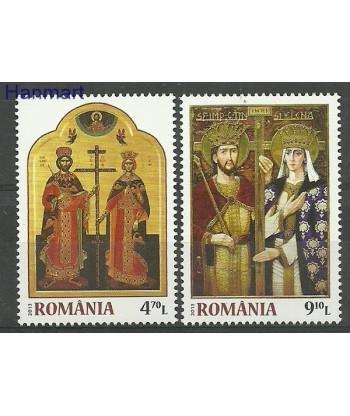 Rumunia 2013 Mi 6707-6708 Czyste **