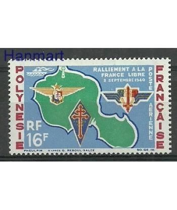 Polinezja Francuska 1964 Mi 37 Z podlepka *