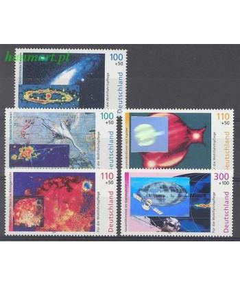 Niemcy 1999 Mi 2077-2081 Czyste **
