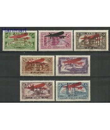 Syria 1929 Mi 325-331 Z podlepka *